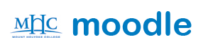 Logo of Moodle Front Page